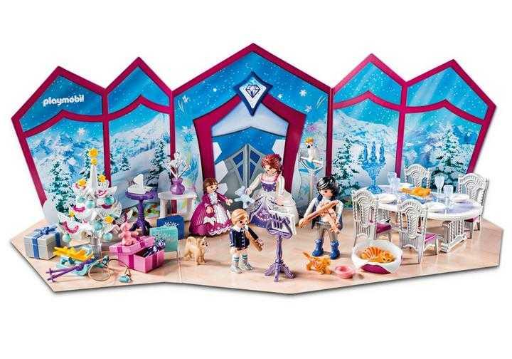 Playmobil Weihnachtskalender.Playmobil Adventskalender Kerstfeest In Het Kristallen Salon 9485