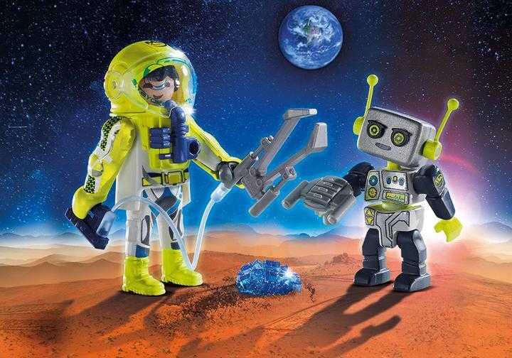 PLAYMOBIL DuoPack Astronaut en robot (9492)