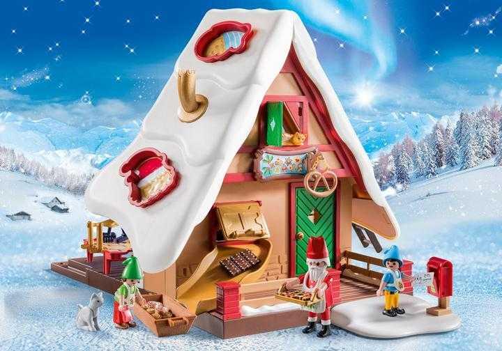 PLAYMOBIL Kerstbakkerij met koekjesvormen (9493)