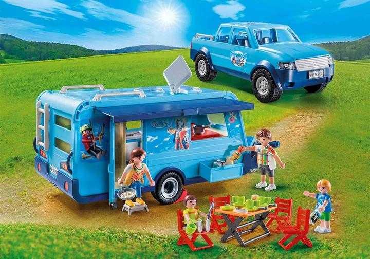 PLAYMOBIL Pickup with Caravan (9502)