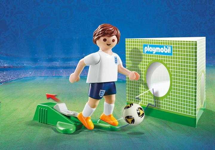 PLAYMOBIL Nationale voetbalspeler Engeland (9512)