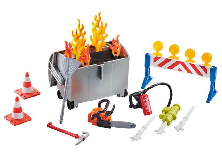 PLAYMOBIL Brandweermateriaal (9804)