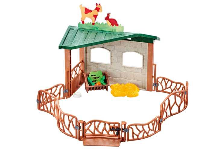 PLAYMOBIL Kinderboerderij omheining (9815)