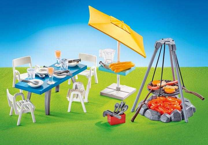 PLAYMOBIL Barbecue opstelling (9818)