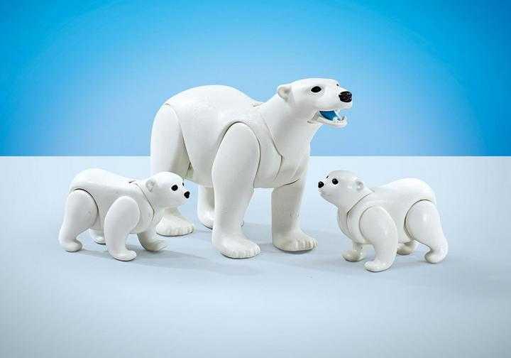 PLAYMOBIL Familie witte beren (9833)