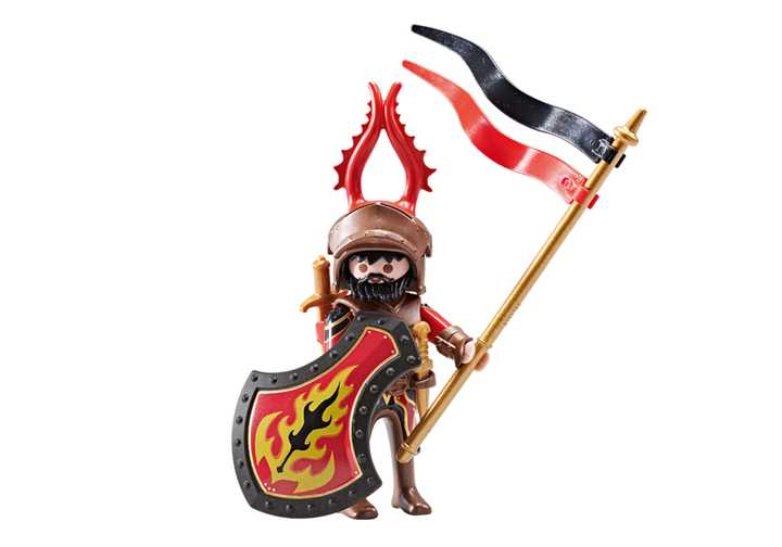 PLAYMOBIL Kapitein van de Burnham Raiders (9837)