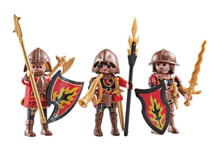 PLAYMOBIL Drei Burnham Raiders (9838)
