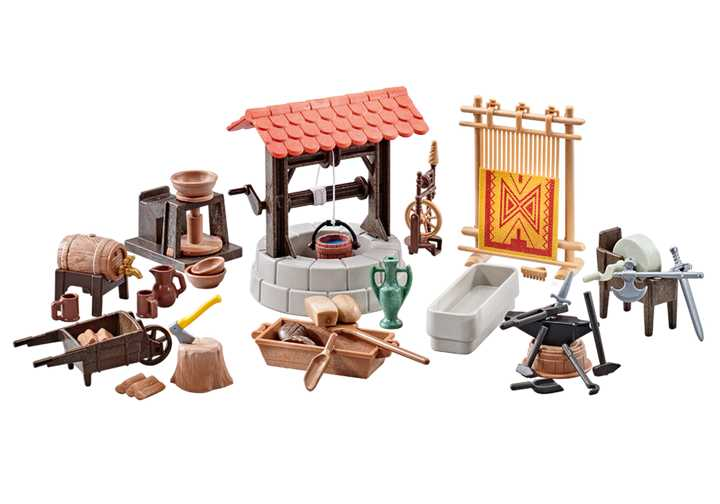 PLAYMOBIL Medieval Village Accessories (9842)