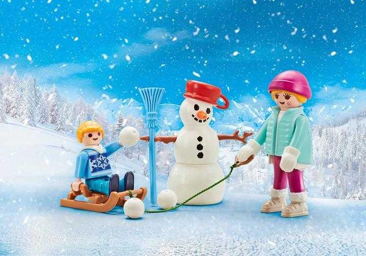 PLAYMOBIL 4 Jahreszeiten-Winter (9864)