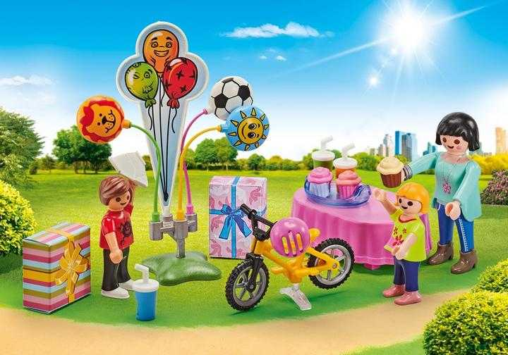 PLAYMOBIL Kinderverjaardag (9865)