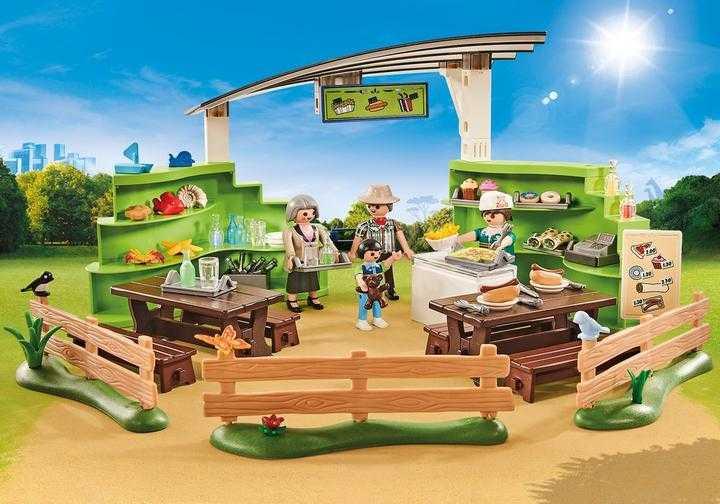 PLAYMOBIL Zoo-Restaurant m. Shop (9871)
