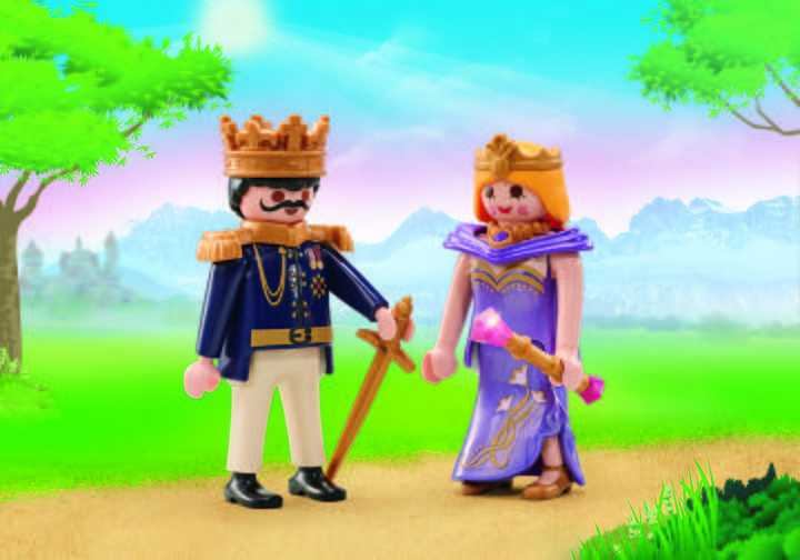 PLAYMOBIL Koninklijk paar (9876)