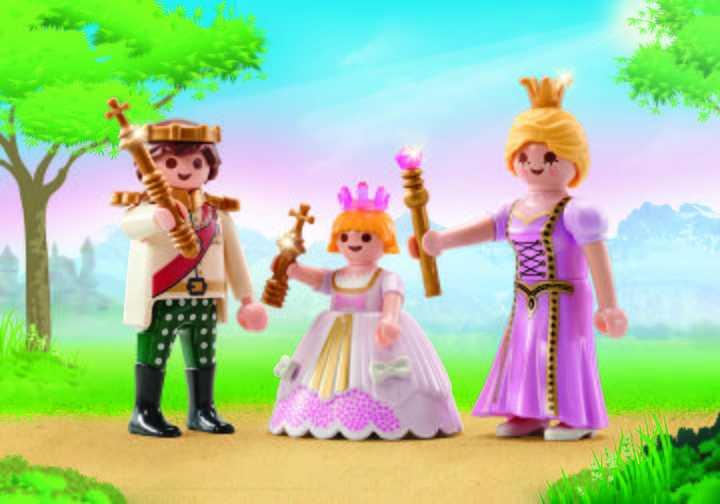 PLAYMOBIL Prins en prinses (9877)