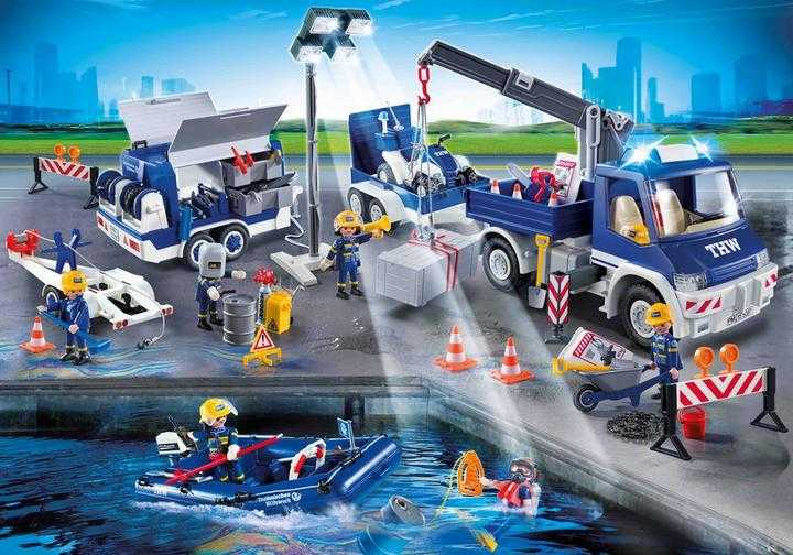 PLAYMOBIL Rescue Operation (9880)
