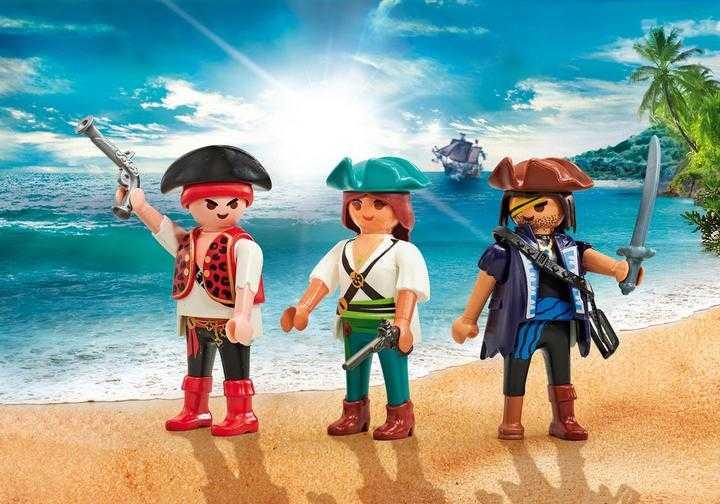 PLAYMOBIL Drei Piraten (9884)