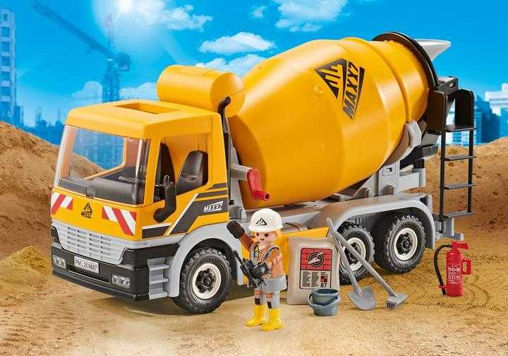 PLAYMOBIL Cementwagen (9887)