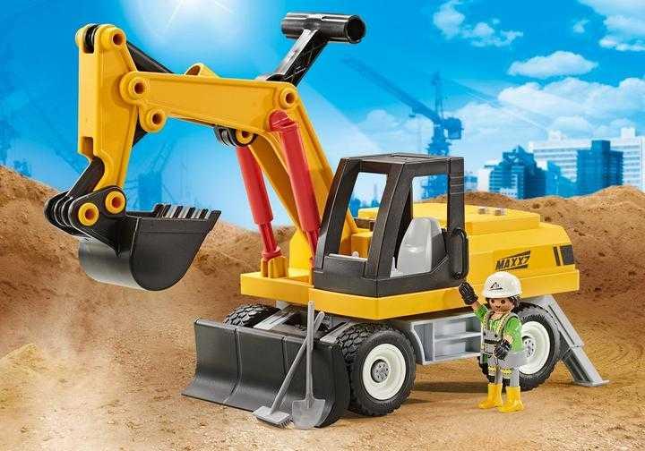 PLAYMOBIL Excavator (9888)