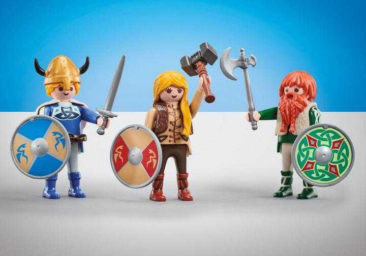 PLAYMOBIL 3 vikingen (9893)