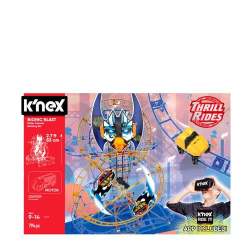 K'NEX Bionic Blast achtbaan bouwset