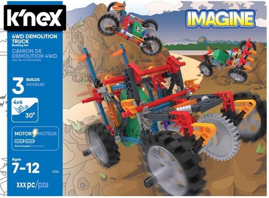 K'NEX 4 Wheel Drive Demolition Truck