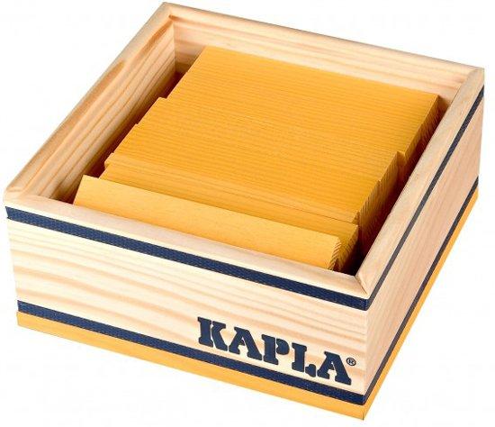 KAPLA Kleur - 40 Plankjes - Geel