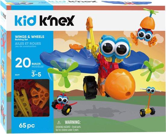 K'NEX Kid K'nex - Wings & Wheels