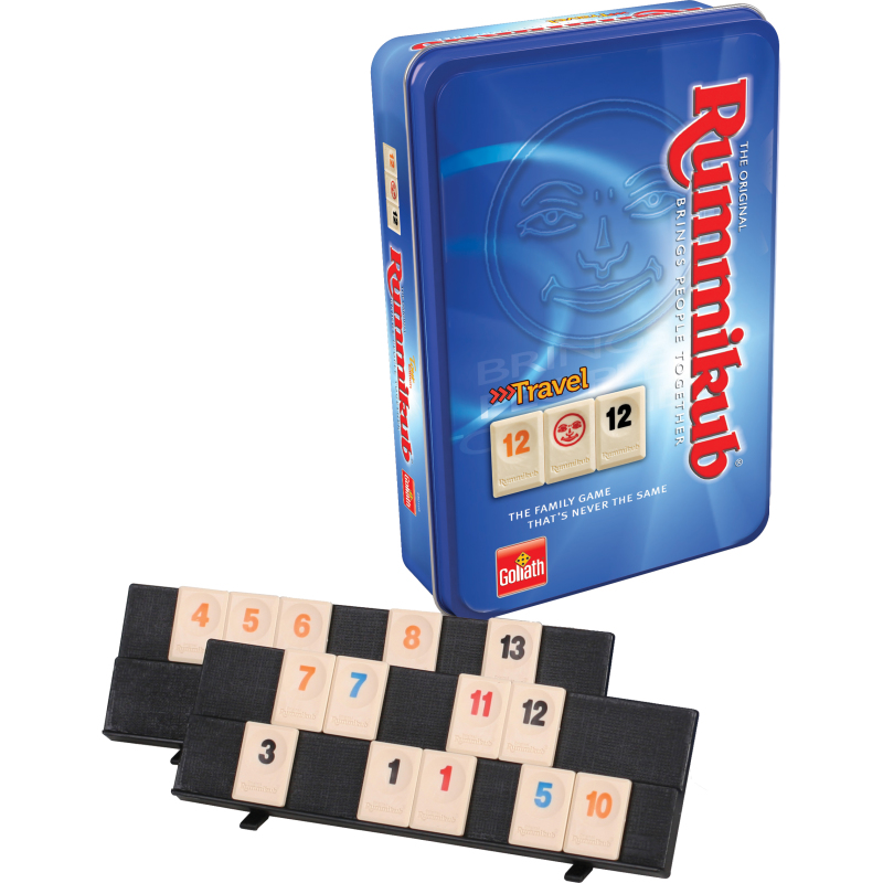 Goliath Rummikub The Original Travel Tour Edition (Tin)
