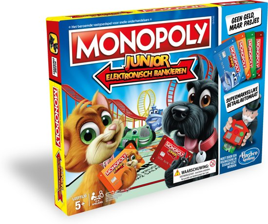 Hasbro Monopoly Junior Elektronisch Bankieren