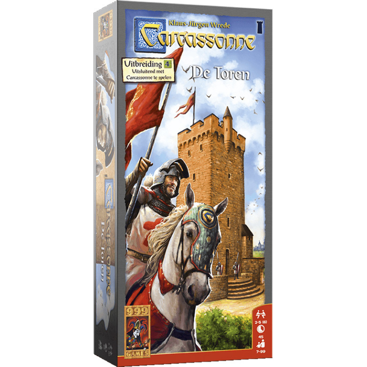999 Games Carcassonne: De Toren