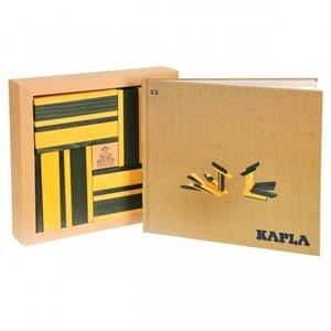 KAPLA Kleur - 40 Plankjes - Geel & Groen