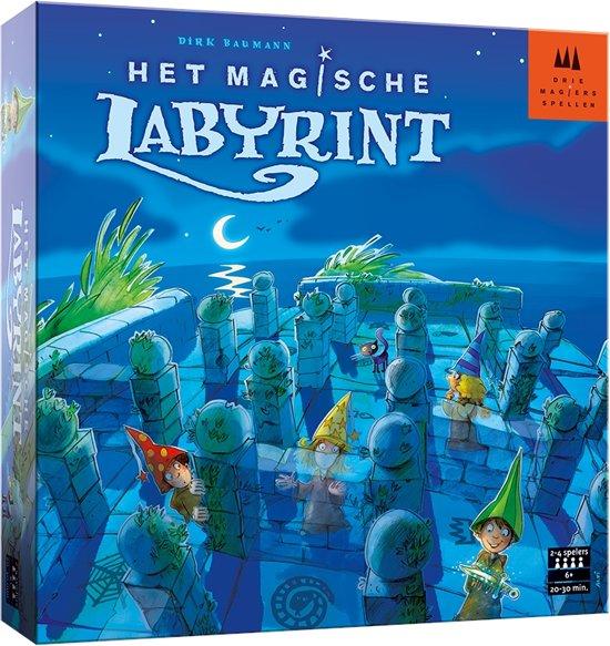 Drie Magiers Spellen Het Magische Labyrint
