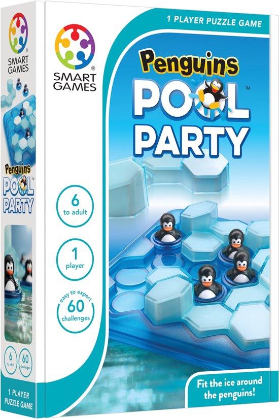 SmartGames Penguins Pool Party (60 opdrachten)