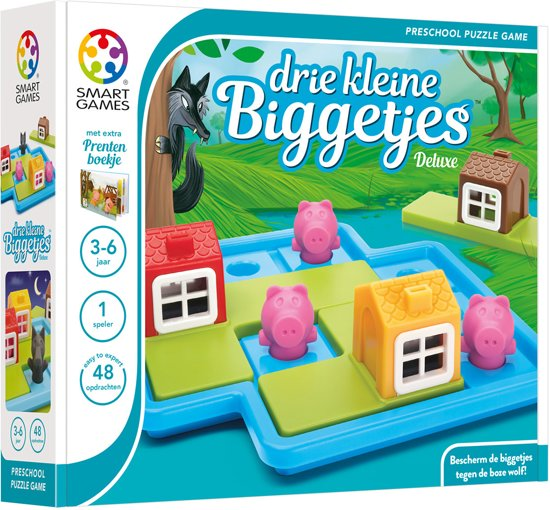 SmartGames Drie Kleine Biggetjes Deluxe
