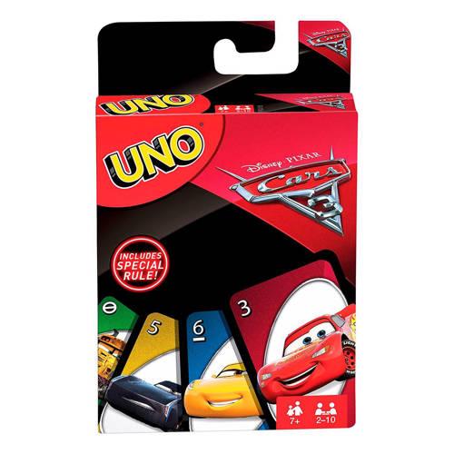 Mattel Uno Cars 3