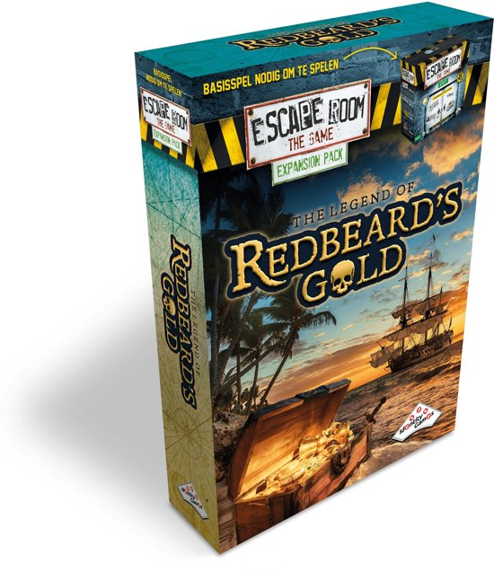 Identity Games The Legend of Redbeard's Gold - Uitbreidingset voor Escape Room The Game
