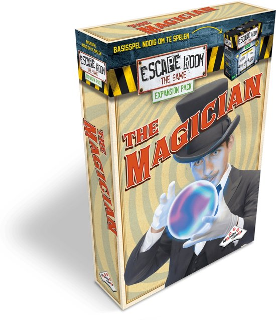 Identity Games The Magician - Uitbreidingset voor Escape Room The Game