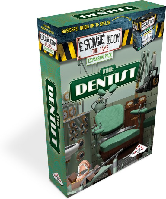 Identity Games The Dentist - Uitbreidingset voor Escape Room The Game