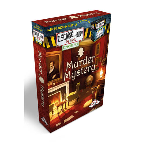 Identity Games Murder Mystery - Uitbreidingset voor Escape Room The Game