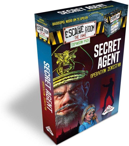 Identity Games Secret Agent - Uitbreidingset voor Escape Room The Game
