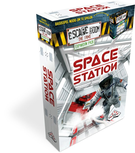 Identity Games Space Station - Uitbreidingset voor Escape Room The Game