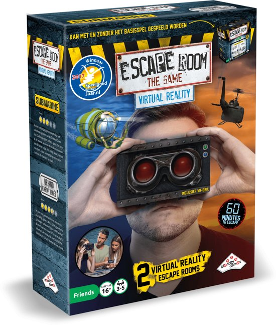 Identity Games Escape Room The Game: Virtual Reality VR