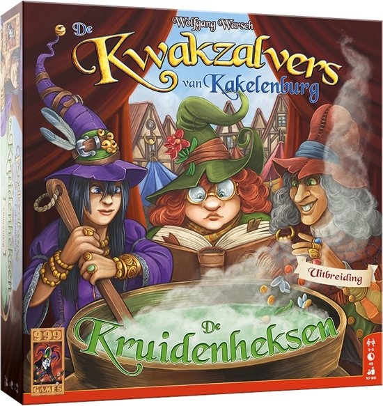 999 Games De Kwakzalvers van Kakelenburg: De Kruidenheksen