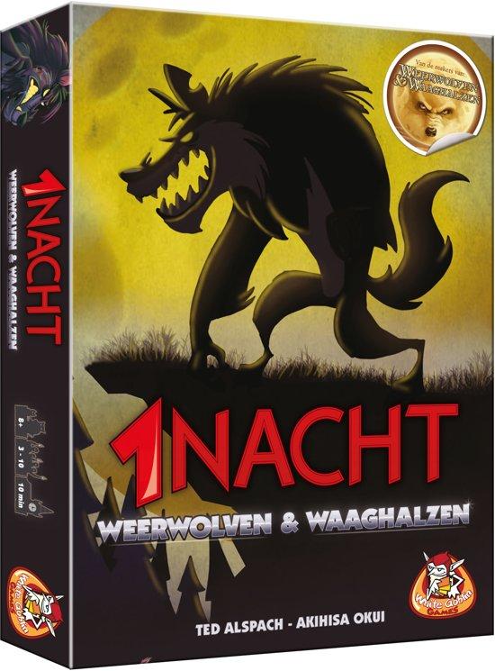 White Goblin Games 1 Nacht Weerwolven & Waaghalzen
