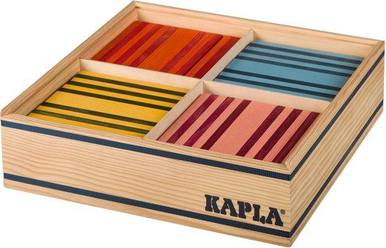 KAPLA Kleur 100 Plankjes Multi