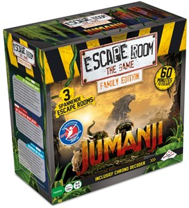 Identity Games Escape Room: The Game Jumanji - Familie Editie
