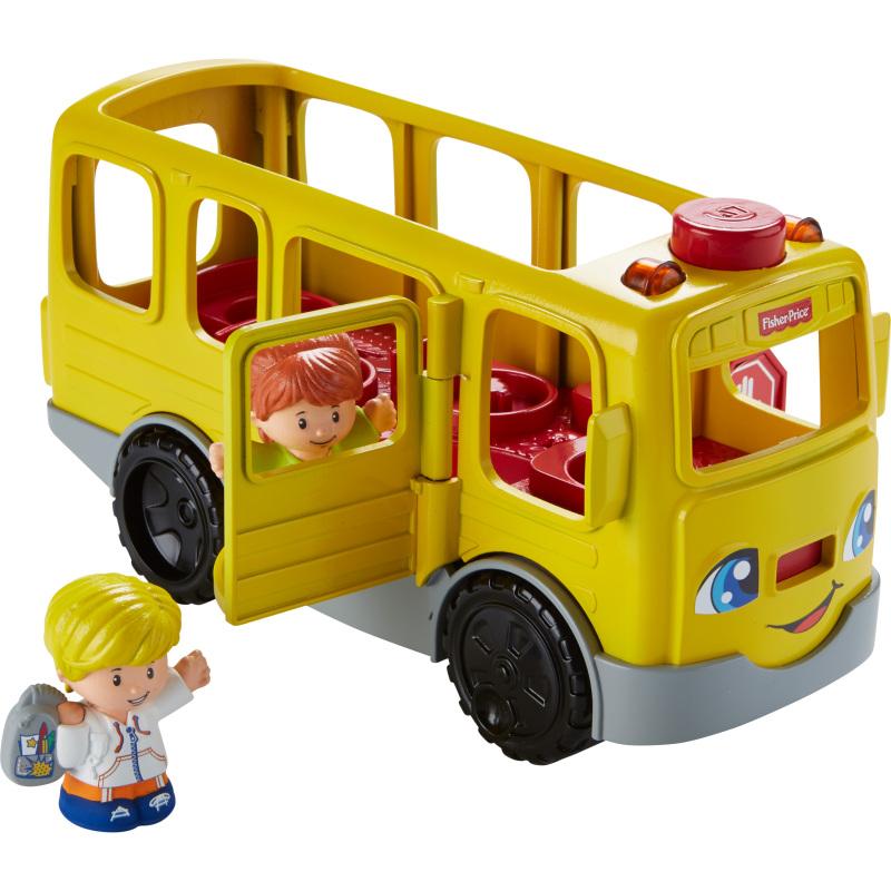 Little People Zit-naast-mij Schoolbus