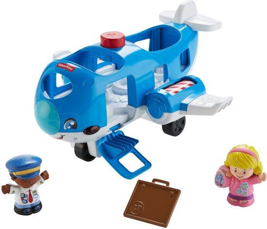 Little People Samen Op Reis Vliegtuig
