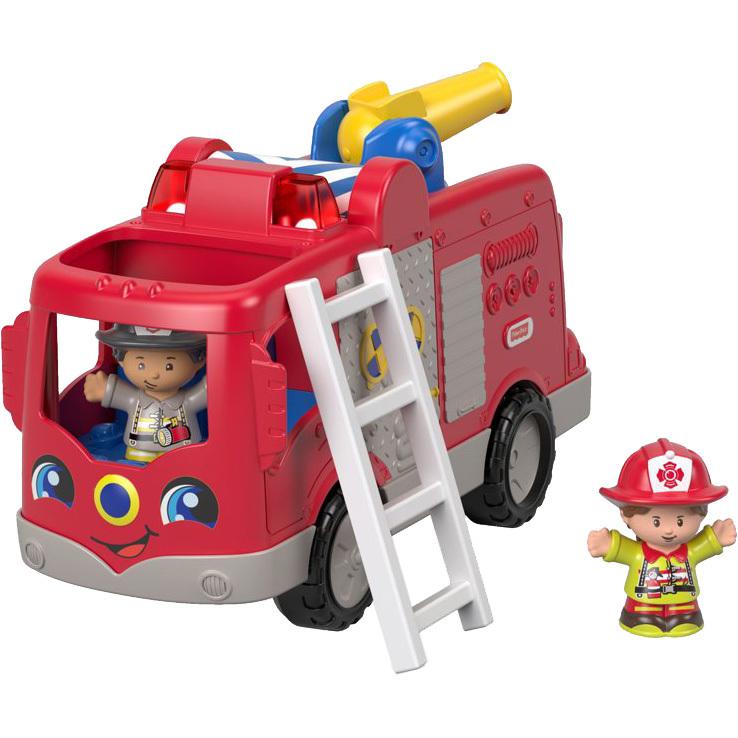 Little People Grote brandweerauto