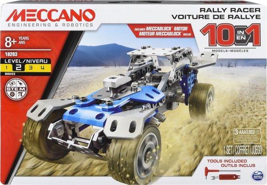 Meccano Trophy Truck Blauw (10in1)
