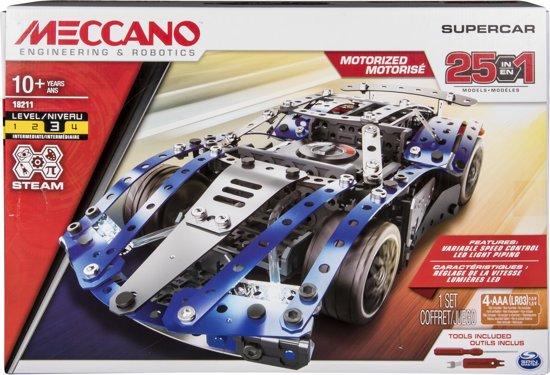 Meccano Super Auto (25in1)